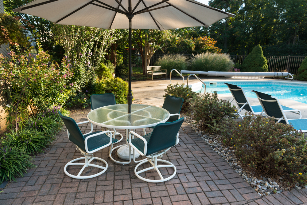 Baltimore county Paver Pool Deck